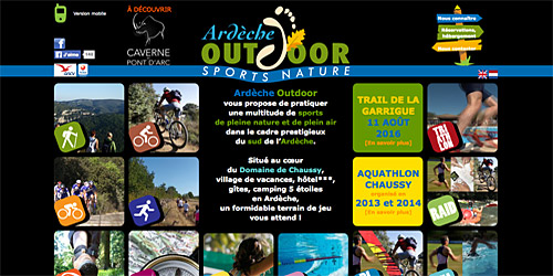 Ardèche Outdoor, sports nature en Ardèche