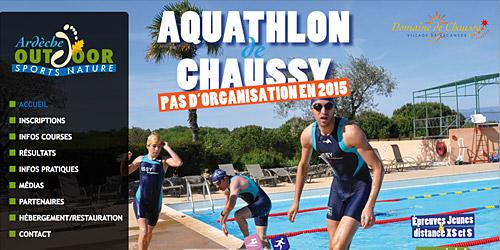 Aquathlon de Chaussy, Lagorce
